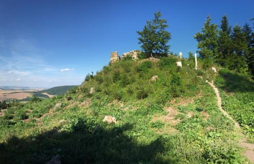 Zřícenina hradu Střílky