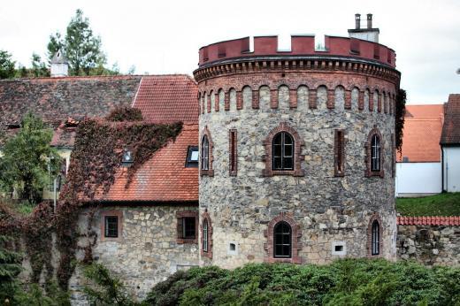 Stará katovna a městské opevnění Třeboň