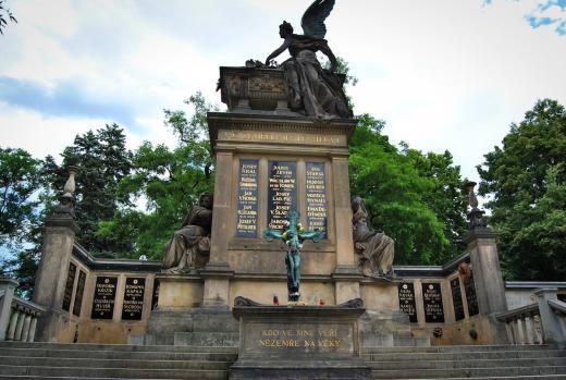 Hrobka nejvýznamnějších národních osobností – Slavín
