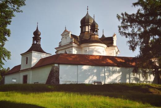 Poutní kostel Nejsvětější Trojice
