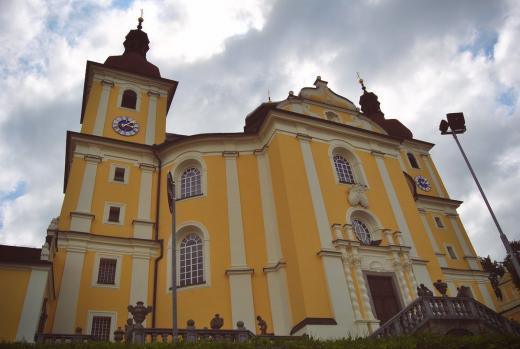 Poutní kostel Panny Marie Těšitelky