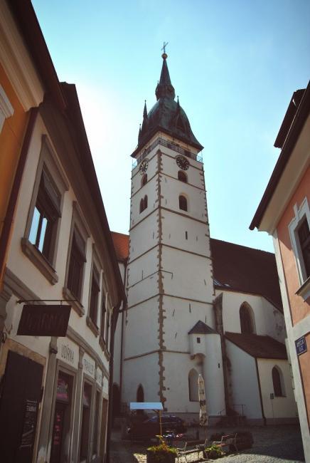Městská věž kostela Nanebevzetí Panny Marie