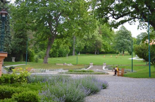 Zahrada vily Löw-Beer