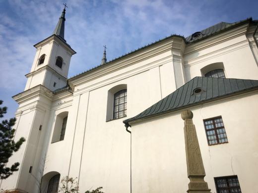 Kostel Nejsvětější Trojice v Drnholci