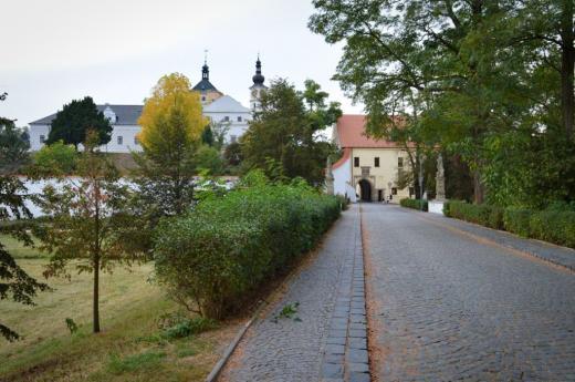 Přihrádek u zámku Pardubice