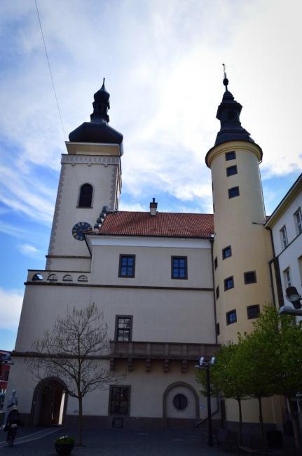 Stará radnice a vyhlídková věž v Mladé Boleslavi