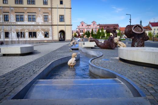 Staroměstské náměstí před Starou radnicí