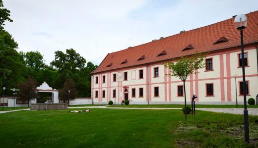 Milevské muzeum v areálu kláštera