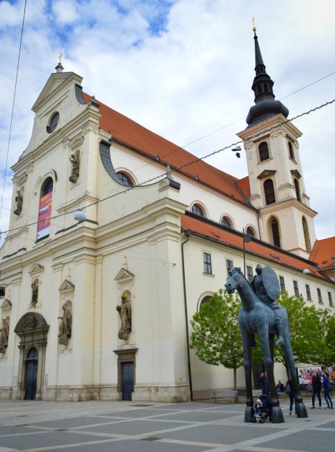Kostel svatého Tomáše na Moravském náměstí