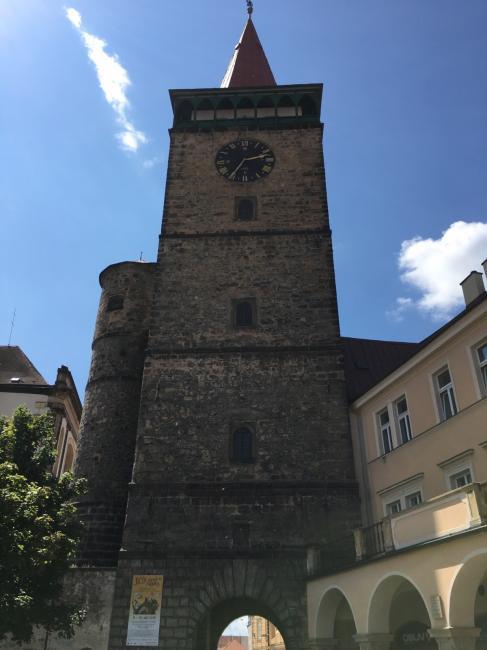 Valdická brána (Jičínská věž)