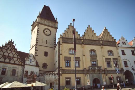 Budova staré radnice v Táboře