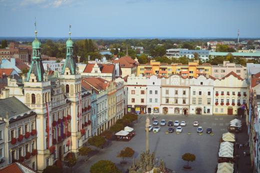 Vyhlídka na Pernštýnské náměstí