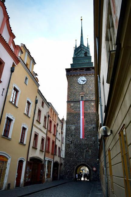 Zelená brána s vyhlídkovou věží