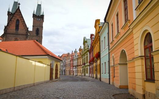 Kanovnické domy v Hradci Králové