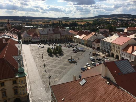 Valdštejnovo náměstí v Jičíně