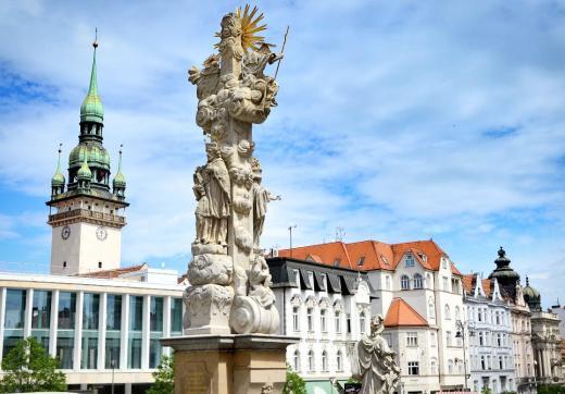 Vyhlídková věž Staré radnice v Brně