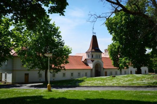 Augustiniánský klášter u zámku Lysá nad Labem