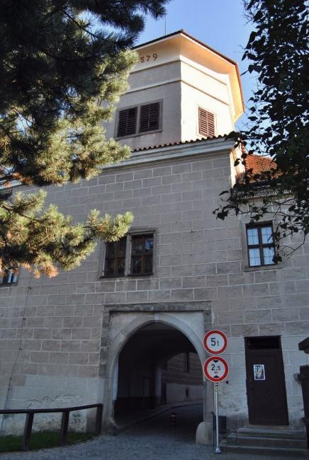 Dolní (Malá) brána Telč