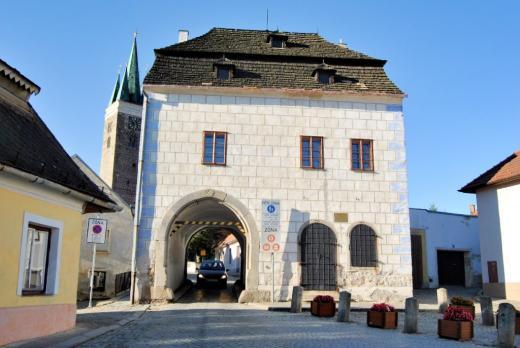 Horní (velká) brána Telč