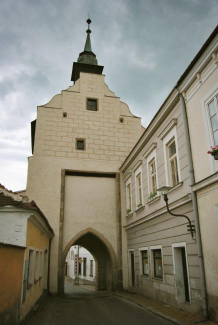 Dačická brána, Slavonice