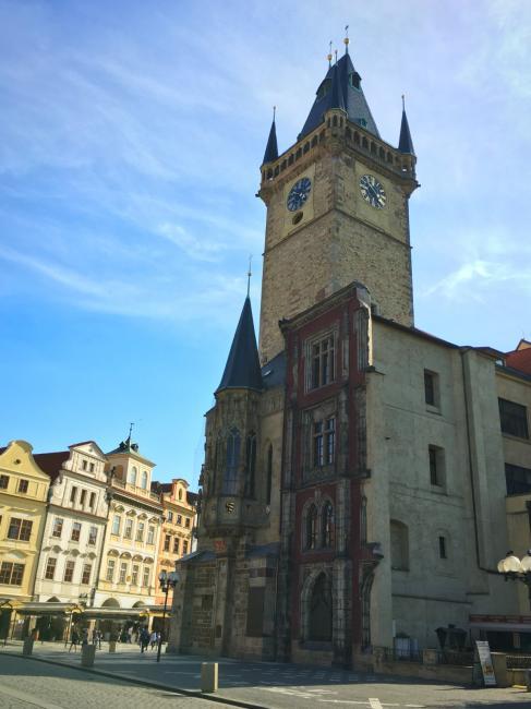 Staroměstská radnice a Orloj