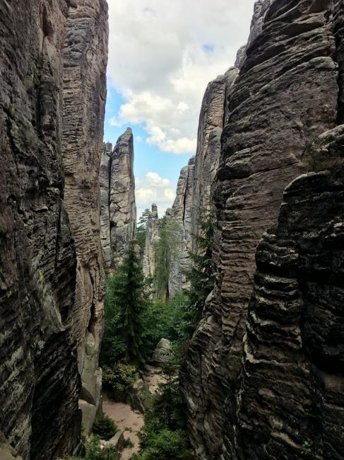Nejkrásnější místa Prachovských skal