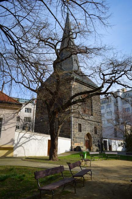 Zvonice u Kostela sv. Štěpána na Rybníčku
