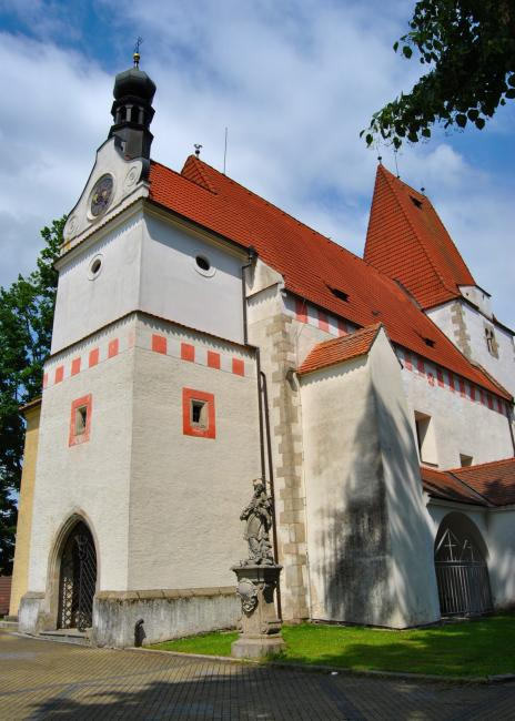 Kostel sv. Mikuláše v Horní Stropnici