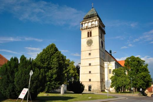 Kostel a vyhlídková věž sv. Vavřince