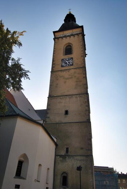 Kostel a vyhlídková věž sv. Petra a Pavla v Soběslavi