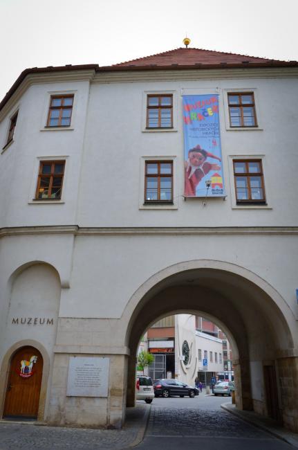 Měnínská brána v Brně