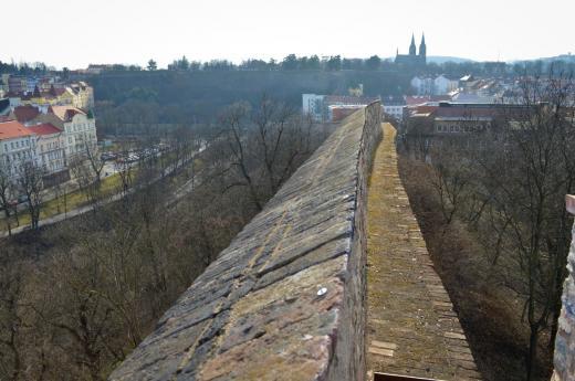 Bastion XXXI (u Božích muk) a Novoměstské hradby