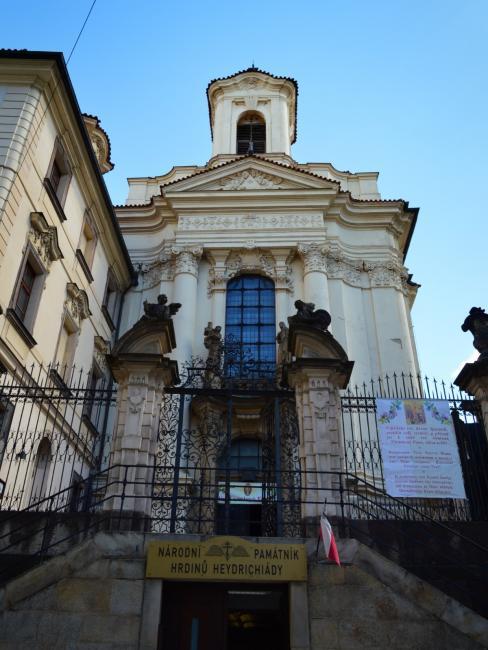 Pravoslavný chrám sv. Cyrila a Metoděje v Praze