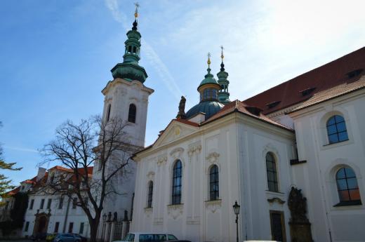Bazilika Nanebevzetí Panny Marie - Strahovský klášter