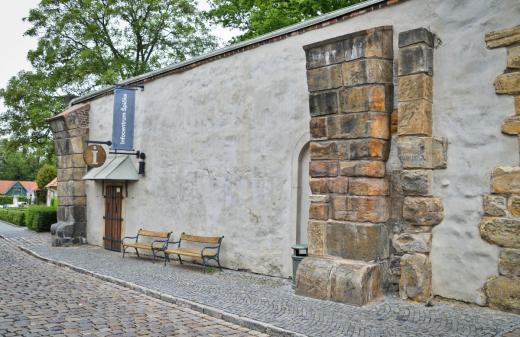 Pozůstatky brány Špička