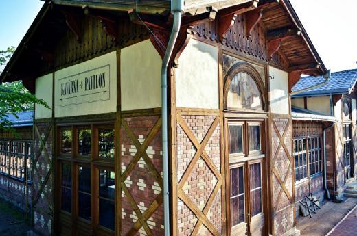 Bývalá kuželkárna a střelnice - dnes kavárna