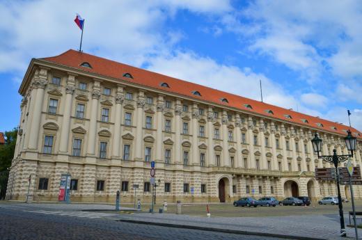 Černínský palác a jeho zahrada