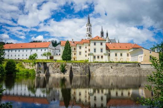 Cisterciácký klášter a kostel ve Vyšším Brodě