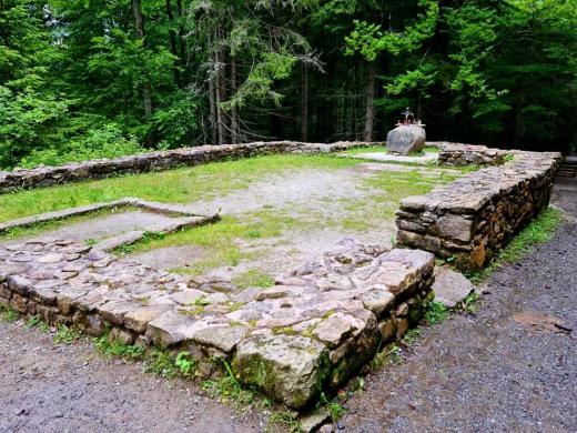 Zřícenina Hauswaldské kaple