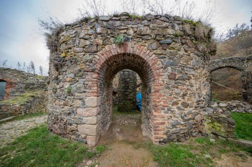 Zřícenina hradu Krašov