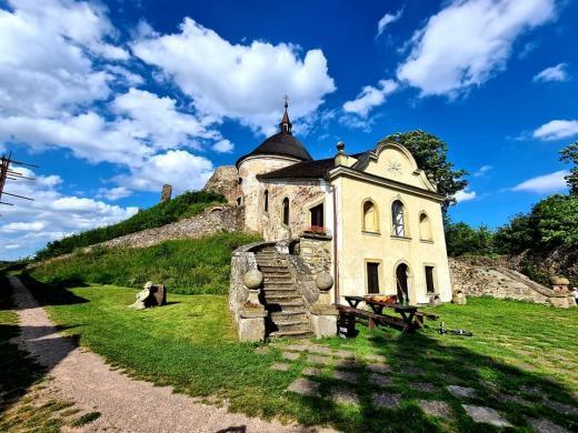 Hrad Potštejn - Kaple Svatých schodů
