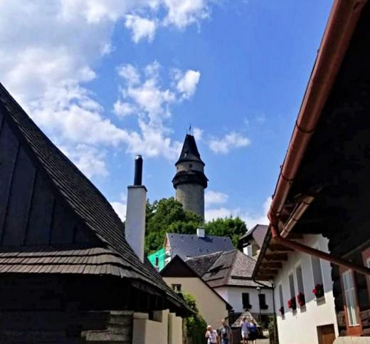 Hrad Štramberk a věž Trúba
