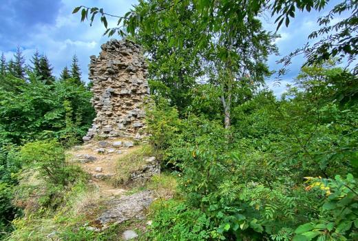 Zřícenina hradu Janštejn