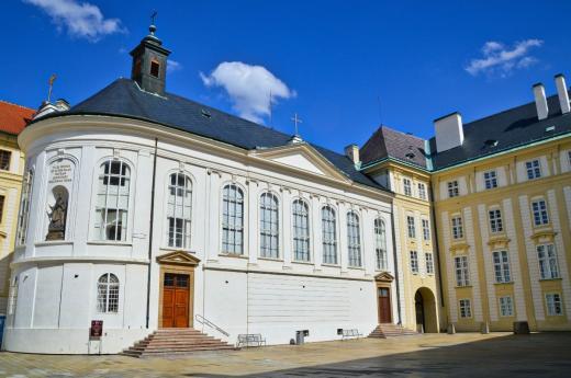 Kaple sv. Kříže na Pražském hradě