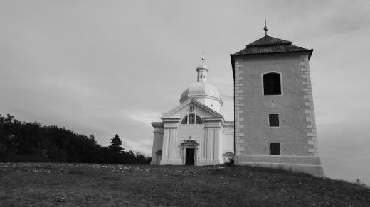 Kaple sv. Šebestiána a zvonice na Svatém kopečku