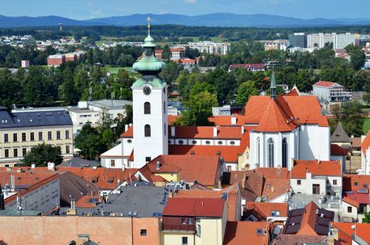 Kostel Obětování Panny Marie v Českých Budějovicích