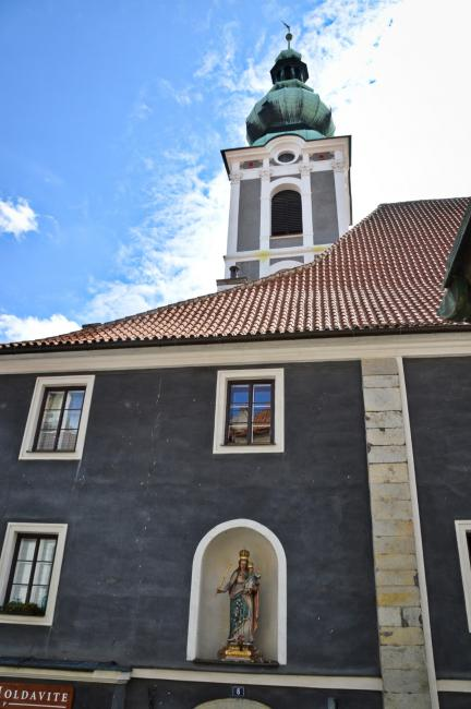 Bývalý kostel a špitál sv. Jošta