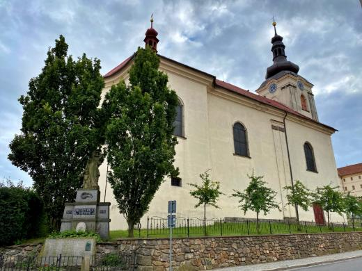 Kostel sv. Jakuba Většího v Brtnici