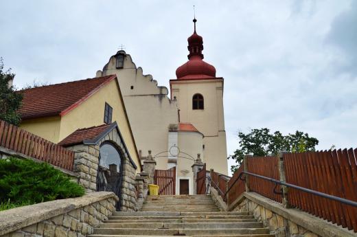 Kostel sv. Martina v Třešti