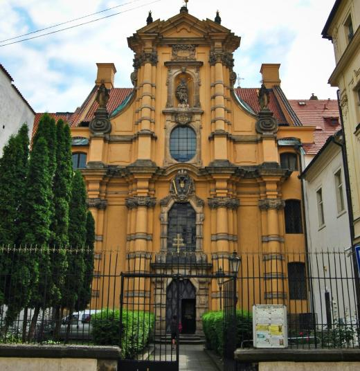 Kostel sv. Josefa na Malé Straně